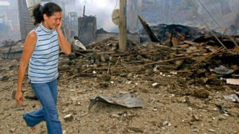 Están incluidas víctimas que han sufrido actos terroristas, amenazas, ho...