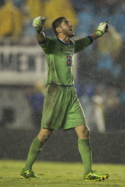 Jesús Corona: El arquero de Cruz Azul desde el primer partido del torneo...