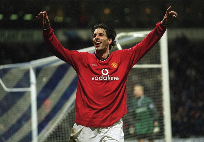 Temporada 2001/2002 - Ruud van Nistelrooy (Manchester United) con 10 goles.