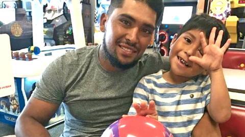 Rufino Suárez, de 26 años, perdió la vida cuando in...