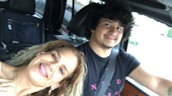 Niurka Marcos y su hijo Kiko