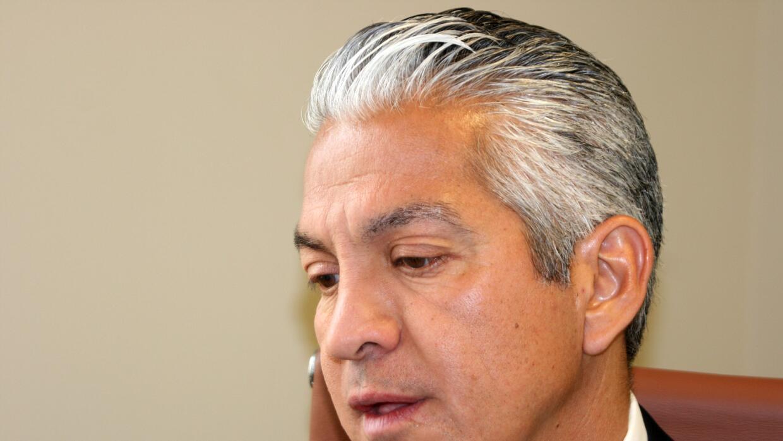 El presidente de la Cámara de Comercio Hispana, Javier Palomarez, en una...
