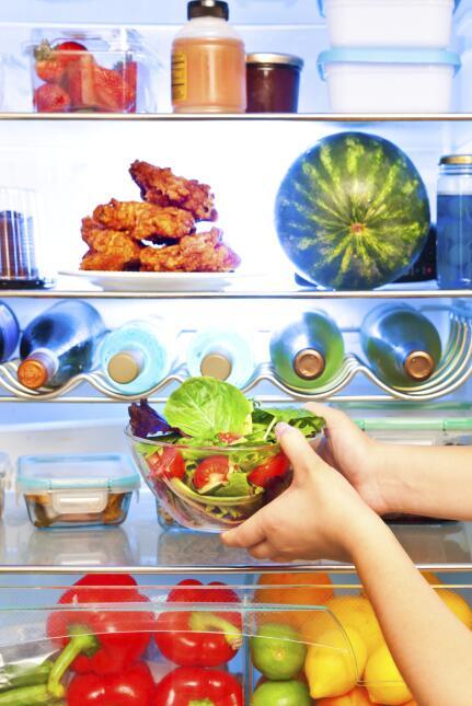 El refrigerador no es un closet en el que podemos almacenar la comida en...