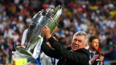 Es la tercera ocasión que consigue el título de la Champions como entren...