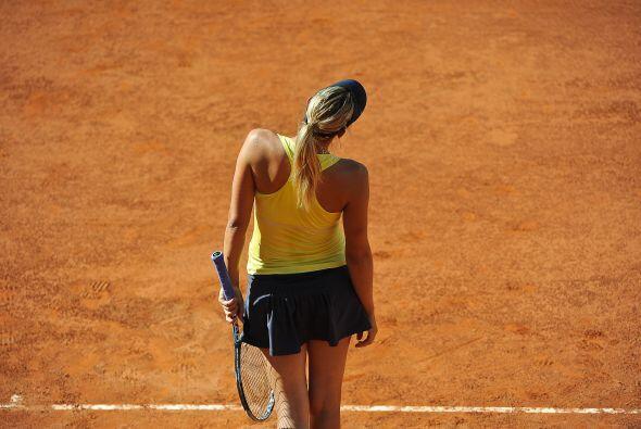 La rusa, Sharapova, estuvo desde el comienzo muy segura.