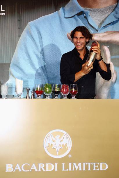 El tenista mallorquín promocionará el consumo de alcohol de forma respon...