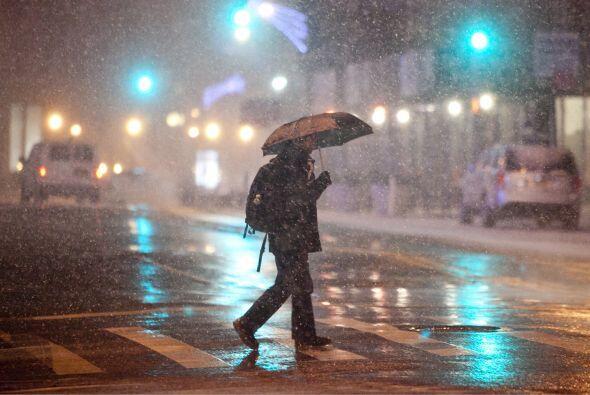 El primer frente de mal tiempo del 2014 afecta a por lo menos 22 estados.