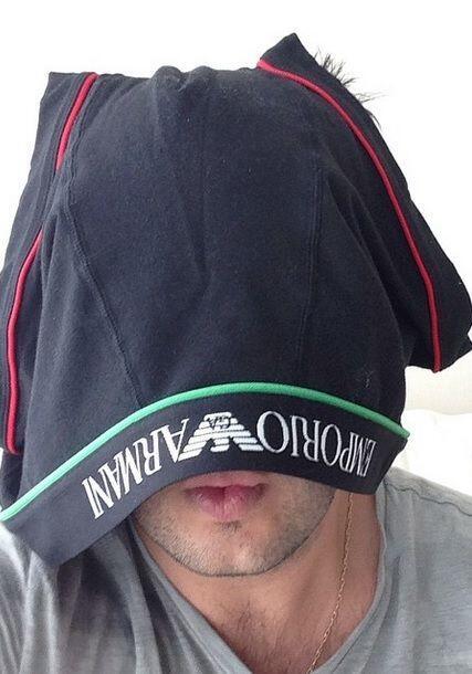 """""""Máscara contra cabellera"""", bromeó Paul Stanley. (Septiembre 6,2014)"""