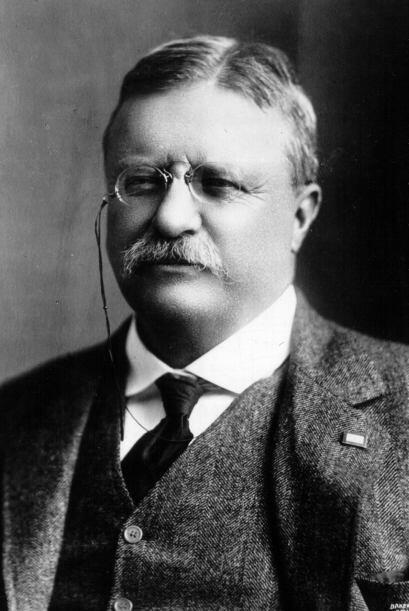 #26 - Theodore 'Teddy' Roosevelt, presidente de Estados Unidos de 1901 a...