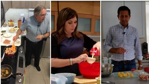 Luis Dávila Colón, Ada Monzón y Armando Valdes demuestran sus talentos c...