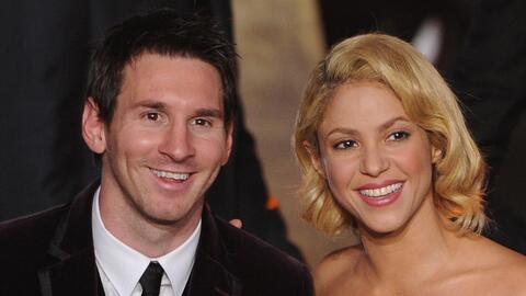 Lionel Messi y Shakira