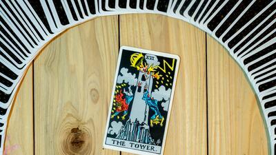 La Torre del tarot: puro desastre y destrucción