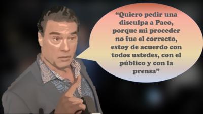 15 frases para una disculpa: así habló Eduardo Yáñez sobre el escándalo de su cachetada