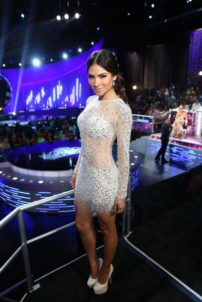 Su aparición en la octava gala de Nuestra Belleza Latina conquist...