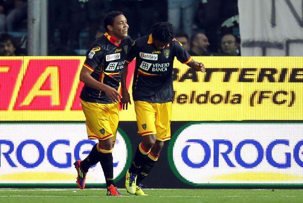 En otros resultados del 'Calcio' él Lecce de visitante gana al Cesena 1...