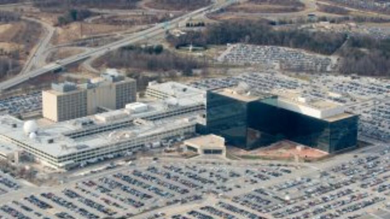 El edificio central de la Agencia Nacional de Seguridad de Estados Unido...