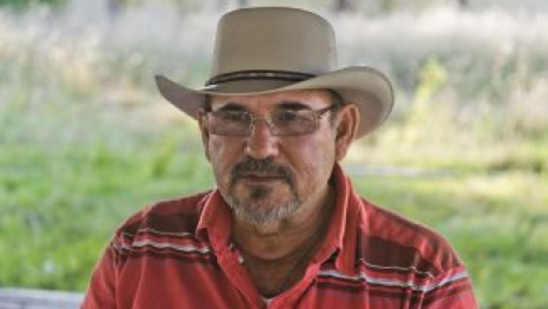 Hipólito Mora, líder de las autodefensas en Michoacán.