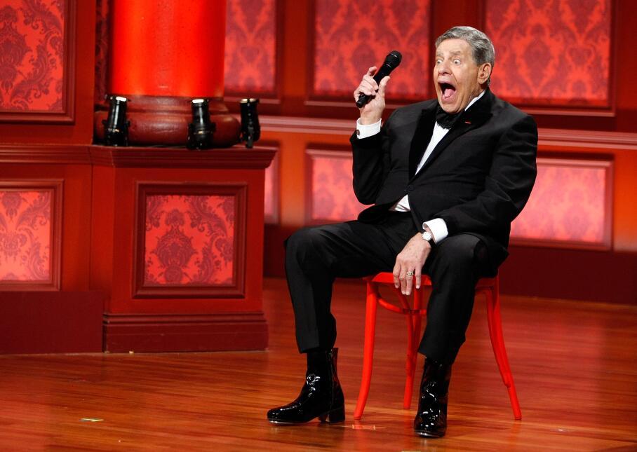 Jerry Lewis, leyenda estadounidense de la comedia y el entretenimiento,...
