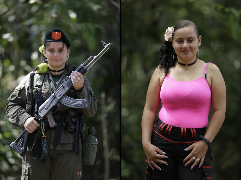 Las mujeres de las Farc