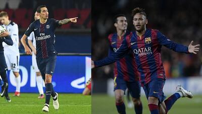 Barcelona y PSG, viejos conocidos que chocarán en octavos de Champions