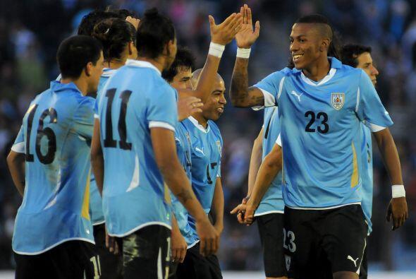 Uruguay, la cuarta selección del mundo prácticamente juega en el patio d...