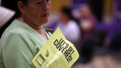 La campaña pretende estimular a los inmigrantes sin papeles a que obteng...
