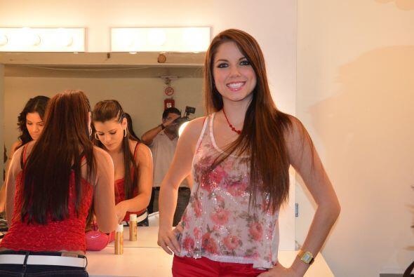 Ahrid también participó en Nuestra Belleza Latina.