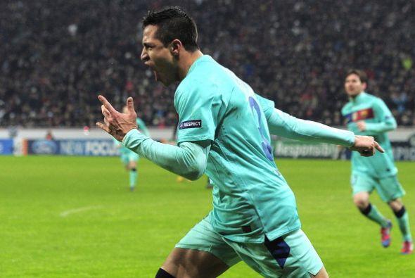 El chileno hace historia en el Barcelona.