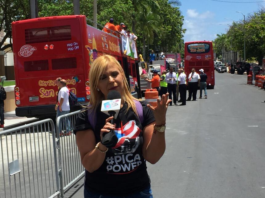 El gobernador Alejandro García Padilla realizó un evento en La Fortaleza...