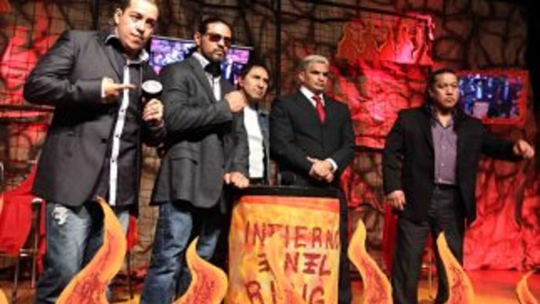 El CMLL presentó 'Infierno en el Ring' 10 luchadores expondrán la cabell...