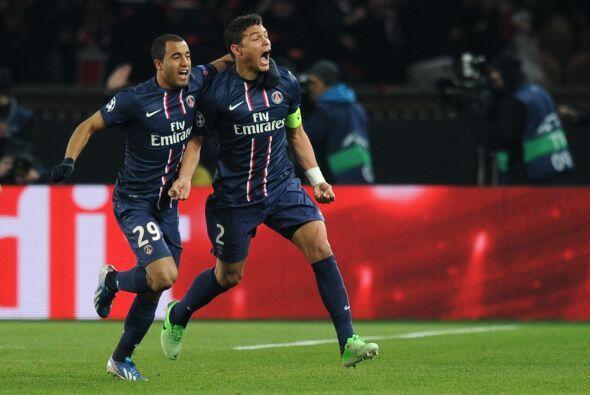 Fue el gol 31 de Ibrahimovic en Champions, el tercero ene sta edición.