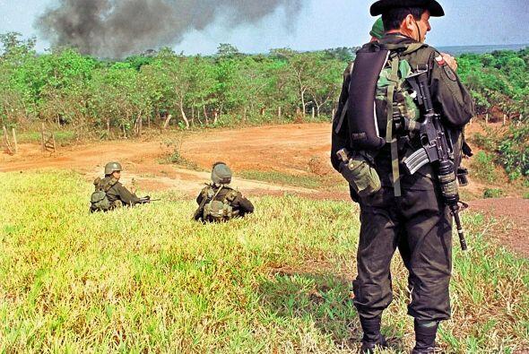La droga en Colombia se produce en las selvas del país y los grupos arma...