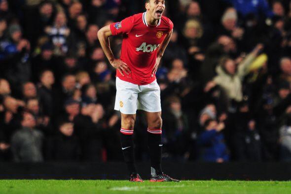 Por su parte, el United no sabía que era lo que pasaba en el campo.