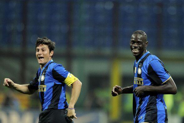 Ya con el Inter mostraba sus problemas de comportamiento. En un juego, e...