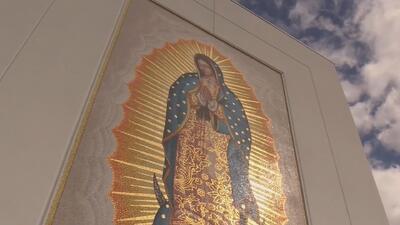 Así celebran cientos de personas el Día de la Virgen de Guadalupe en Doral