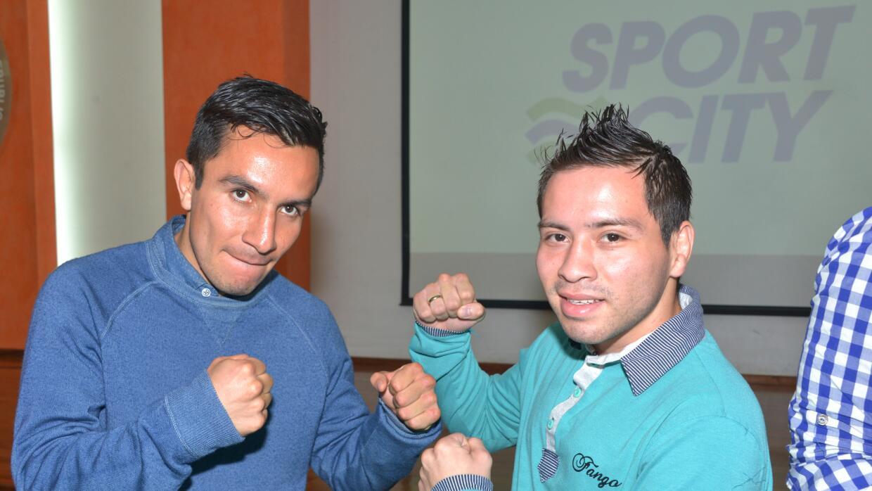 'Confesor' Hernández y 'Baby' Juárez quieren un título mundial (Foto: Al...