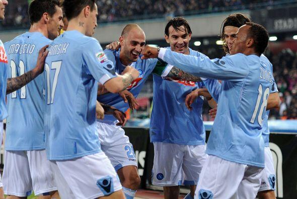 Zúñiga puso el gol que le valió el triunfo al Napoli y, asimismo, seguir...