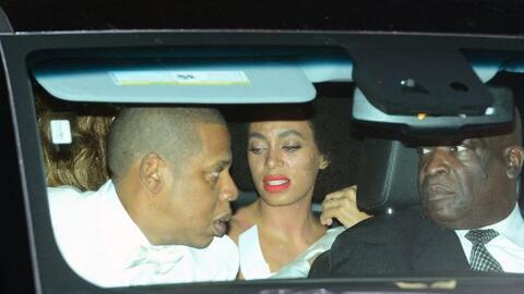 Solange Knowles reaccionó mal a los alimentos de su propia boda.