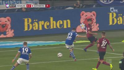 Harit, Caligiuri y Skrzybski se mandan un jugadón para el cuarto del Schalke