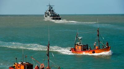 La última comunicación con el submarino argentino ARA San...
