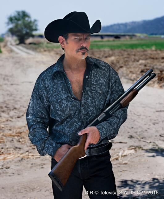 Guillermo García Cantú en 'Las Amazonas'