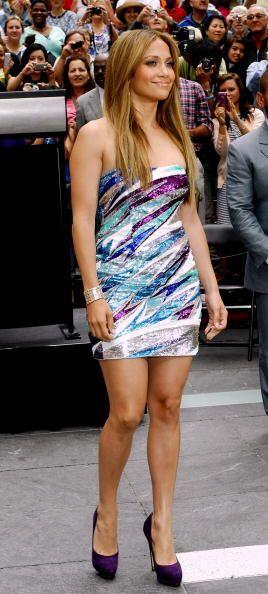 Jennifer no necesita llevar accesorios encima, pues sus naturales atribu...