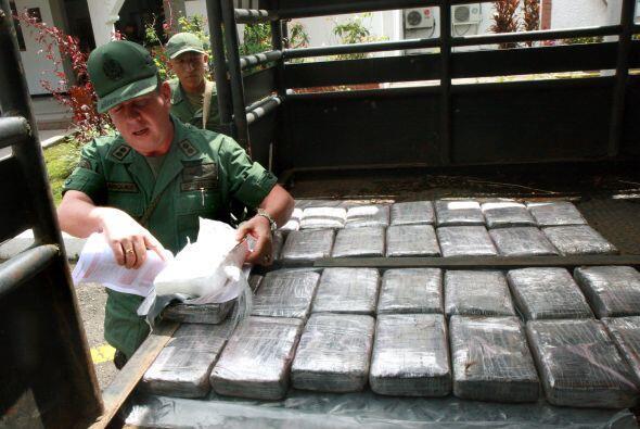 Los cuerpos de seguridad de Venezuela han incautado en lo que va de este...