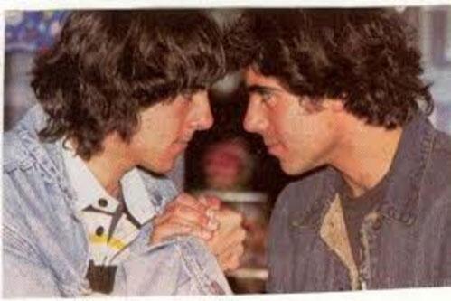 Cristian y Luciano Seri Mellizos