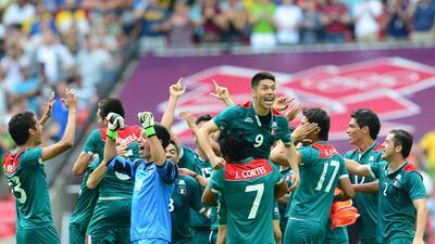 En fotos: México vs Brasil en los juegos decisivos
