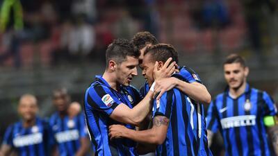 Inter de Milán le pega al Udinese con doblete de Stevan Jovetic y gol de Eder