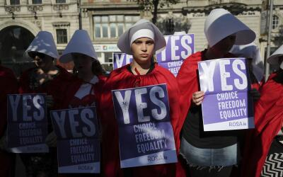 Volunteers from Reproductive rights, against Oppression, Sexism & Auster...