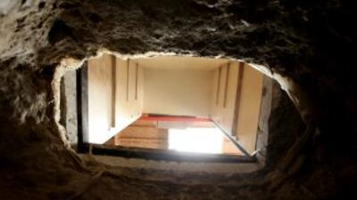 Criminales han construido decenas de túneles en la frontera de México y...