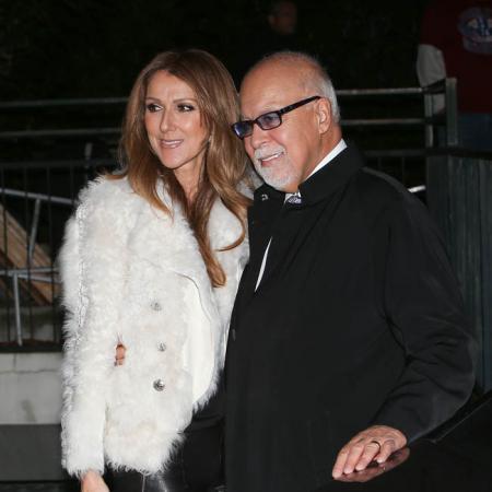 Céline Dion y su marido René Angélil