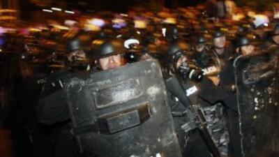 La sublevación polical contra el gobierno de Rafael Correa se registró e...